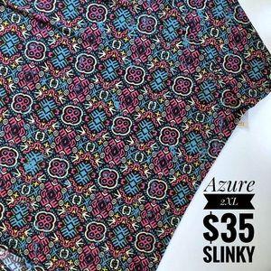 Slinky Azure Skirt by LuLaRoe